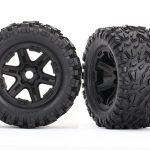 Traxxas-Tires—wheels–assembled–glued-(black-wheels–Talon-EXT-tires–foam-inserts)-(2)—TRX8672