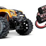 Traxxas-X-Maxx-8S-Brushless-Monster-truck-RTR-Oranje—Model-2020-inclusief-Power-Pack