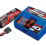 Traxxas-Battery—charger-completer-pack-(includes-TRX2970-iD-charger-(1)–TRX2849X-4000mAh-11.1v-3-Cell-25C-LiPo-Battery-(1))