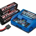 Traxxas-Traxxas-TRX2997-Complete-batterij—oplader-(inclusief-2973-Dual-iD-oplader-(1)–2890X-6700-mAh-14-8-V-4-cel-25C-LiPo-batterij-(2))