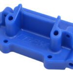 RPM-RPM73755-Blue-Front-Bulkhead-for-most-Traxxas-1_10-scale-2wd-Vehicles