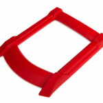 Traxxas-Skid-plate–roof-(body)-(red)–3x15mm-CS-(4)-(requires-TRX7713X-to-mount)—TRX7817R