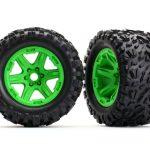 Traxxas-TRX8672G-Banden-met-velgen-(groen-gemonteerd)-Talon-3.8–