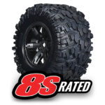 Traxxas-Tires—wheels–assembled–glued-(X-Maxx-black-wheels–Maxx)—TRX7772X