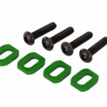 Traxxas-Washers-motor-mount-aluminum-green-anodized-4—4x18mm—TRX7759G