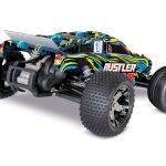 37076-4-rustler-VXL-YLW-Rear