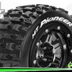 Louise-RC-MT-PIONEER—Maxx-Bandenset—Gemonteerd—Sport—3.8-Bead-Lock-Velgen-Zwart-Chrome—1-2-Offset—Zeskant-17mm—L-T3329SBC