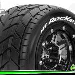 Louise-RC-MT-ROCKET—Maxx-Bandenset—Gemonteerd—Sport—3.8-Bead-Lock-Velgen-Zwart-Chrome—1-2-Offset—Zeskant-17mm—L-T3328SBC
