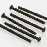 Traxxas-TRX2592—Screws-3x40mm-button-head-machine-(hex-drive)-(6)