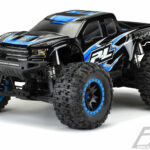 Proline-Pre-Cut-2017-Ford-F-150-Raptor-Tough-Color-(Black)-Body-for-Traxxas-X-MAXX