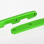 Traxxas-Bulkhead-tie-bars–front—rear–aluminum-(green-anodized)—TRX6823G