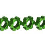 Traxxas-Wheel-hubs-hex-aluminum-green-anodized-4—TRX7756G