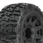 Pro-Line-PR10175-10-Trencher-LP-3.8—All-Terrain-Tires-Mounted-for-17mm-MT-Front-or-Rear–Mounted-on-Raid-Black-8×32-Removable-Hex-17mm-Wheels