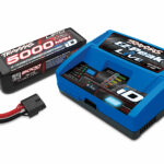 Traxxas-Battery-charger-completer-pack-(includes-2971-iD-charger-(1)–2888X-5000mAh-14.8V-4-cell-25C-LiPo-battery-(1))—TRX2996