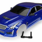 Traxxas-Body–Cadillac-CTS-V–blue-(painted–decals-applied)—TRX8391A
