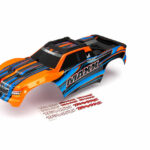 Traxxas-Body–Maxx–orange-(painted)–decal-sheet—TRX8911T