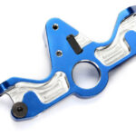 Traxxas-Motor-mount–6061-T6-aluminum-(blue-anodized)—TRX6860R
