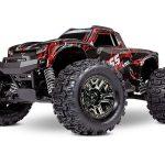 Traxxas-Traxxas-Hoss-4×4-VXL-3S-Brushless-Monster-Truck-TSM-RTR-Shadow-RED-TRX90076-4SRED